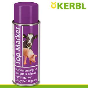 Kerbl 500ml Viehzeichenspray Top Marker violett Weide Schafe Rind Schweine Stall