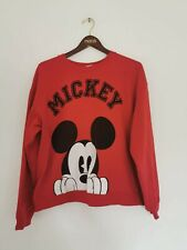 Vintage Disney Mickey Mouse Jumper Size XXXL Red Great Condition