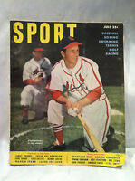 """Collectible Vintage Sport magazine July 1950  Stan Musial """"Cardinals"""" And More"""