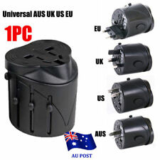 International USB Travel Adapter AC Power Plug Converter Universal AU UK US EU S