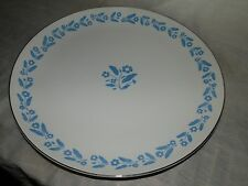 "Vintage, 1950's, Symphony in Blue, Fine China, Japan, 10 1/2"", Dinner Plate"