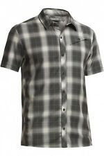 Mens New Icebreaker Departure Shirt Size Small Plaid Monsoon