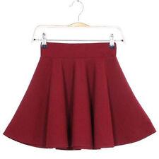 Women's Adult Fluffy Tulle Ballet Pettiskirt Princess Tutu Mini Skirt Dancewear