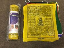 Tibetan Pure cotton Buddhist prayer flag/lungta/large/ 25 Leaves /6 Meter Approx