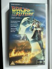 BACK TO THE FUTURE VHS video Cassette And Original BOX Vintage 1985 (Untested)