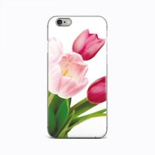 Tulip iPhone 4 4s 5 5s 5c SE Silicone Case Floral New iPhone XR XS Max X Cover