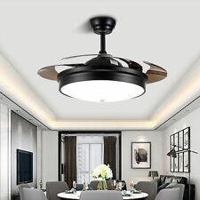 Modern Ceiling Fan Lights Lamps Remote Control 42 inch Bedroom Fan Lighting Usa