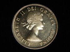 1953 Canada 50C Silver - Small Date