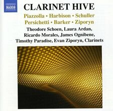 Piazzolla / Schoen / - Clarinet Hive: Works for Clarinet [New CD]