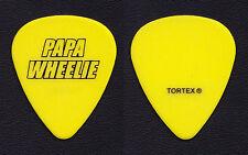 Papa Wheelie Jason Newsted Yellow Signature Guitar Pick - 2011 Tour Metallica