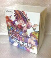 NEW PSV Seiken Densetsu 2 Secret of Mana COLLECTOR'S EDITION JAPAN Sony PS Vita