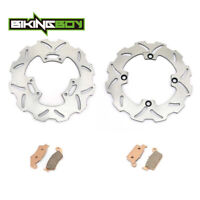 FOR Honda CR 125 R CR 250 R 1998 1999 2000 2001 FRONT REAR BRAKE ROTOR DISC PADS