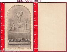 2013 SANTINO HOLY CARD GESù RISORTO ULTIMA CENA EUCARESTIA EB R / 919 R/919