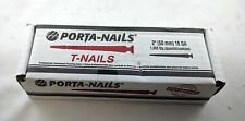 Porta-Nails 42629 2-Inch x 16-Gauge T-Head Hardwood Flooring Nails (1000 pack)