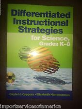 Differentiated Instructional Strategies for Science, Grades K-8 [With CDROM]