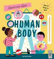 Scratch and Learn Human Body: With 70 things to spot!, Flint, Katy, New conditio