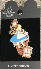 Disney  Alice in Wonderland Alice falling down through rabbit hole pin LE slider
