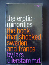 "Lars Ullerstam  "" The Erotic Minorities ""  Grove Press  Black Cat book # BC-126"