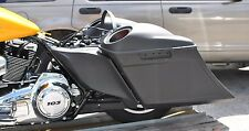 2009-13 Touring Harley Stretched Scalloped Saddlebags, Rear Fender & side covers