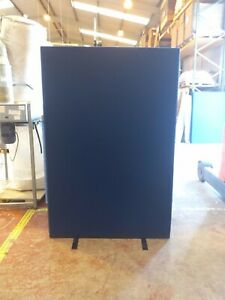 Office Screen Divider Partition 1200mm Wide x 1800mm High Blue Nyloop