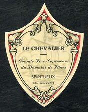 ETIQUETTE / LE CHEVALIER GRANDE FINE SUPERIEURE DOMAINE DE FLINES