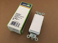 5604-2W Leviton Decora 4WAY Rocker Switch WHITE 120/277 New