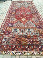 "Antique Moroccan Rabat gallery size Carpet 5'5""x15'5"" c. late 19th cent."