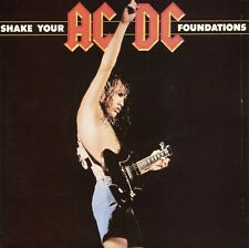 AC/DC 7'' Aust. Single 45 - Shake Your Foundations PC (Sample Promo) - Near Mint