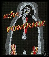 AC/DC powerage 2009 - WOVEN SEW ON PATCH official merchandise - angus young
