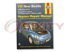 Volkswagen VW Beetle Haynes Repair Manual Base 2.5 GLX Sport Turbo GLS TDI sh