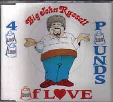 Big John Russel-400 Ponds Of Love cd maxi single