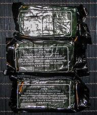"Israeli Pressure Bandage 4"" Trauma Wound Dressing Bandage IDF ISSUE 3 PACK - NEW"