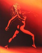 Jannys ART - FEVER - 80 x 100 cm Kunst Malerei Bilder Gemälde Original