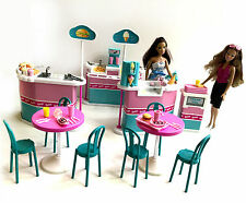95 pc Barbie Vintage Much To Do Mall Food Court Lot Food Ice Cream 95 Mint Pink