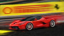 Automotive Car Motorsport Art 2014 LaFerrari Ferrari V12 hybrid large print