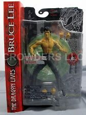 Bruce Lee Dragon Lives BRAVE LITTLE DRAGON Closed Mouth Variant Arty Asylum NIP