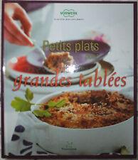 Nouvelle annonce Livre cuisine THERMOMIX VORWERK : Petits plats pour grandes tablées NEUF