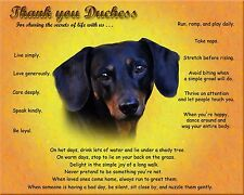 Personalized Pet Memorial Tribute Picture-Dachshund Dog  w/Your Pet's Name