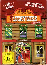 Lucky Luke Box Classics , die Komplette Serie , 10 DVD's Box , NEU + OVP