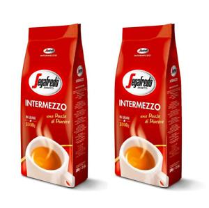 2 x 1kg Segafredo Intermezzo Coffee Beans (Pack Of 2)