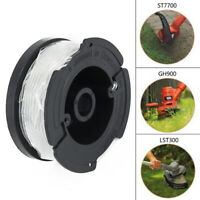 Replacement Spool Cap + Spring For AFS Trimmer Black&Decker RC-100-P AF-100-3ZP