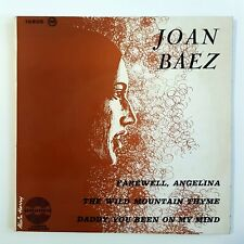"▄ French Only 7"" ▄  JOAN BAEZ chante BOB DYLAN : FAREWELL, ANGELINA (EP)"