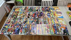 over 120 comic book lot batman avengers gi joe