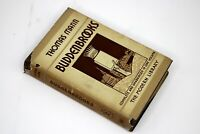 Thomas Mann BUDDENBROOKS First/1st Modern Library Book 1935 in Dust Jacket RARE
