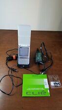 Sony CliÉ Peg-Tg50/U Clie Palm Os 5 Handheld Palm Pda Umpc Tested Stand Power