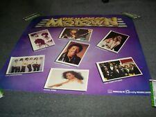 Magic Of Motown  Original Poster Quality Records Canada