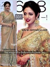 Indian Bollywood Replica Designer Net Saree Sari Wedding Party Exclusive 331