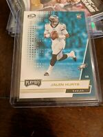 Jalen Hurts 2020 Panini Playoff 1st down #d 69/99 Rookie Card RC #214 EAGLES