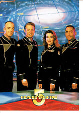 BABYLON 5 SEASON 2 UNNUMBERED PROMO CARD