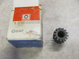 NOS GM Distributor Oil Pump Drive Gear 1962052 66-86 Chevy Pontiac Olds Buick